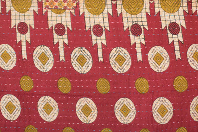 Magical no. 8 Kantha Holiday Mini