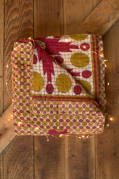 Kantha Holiday Blanket
