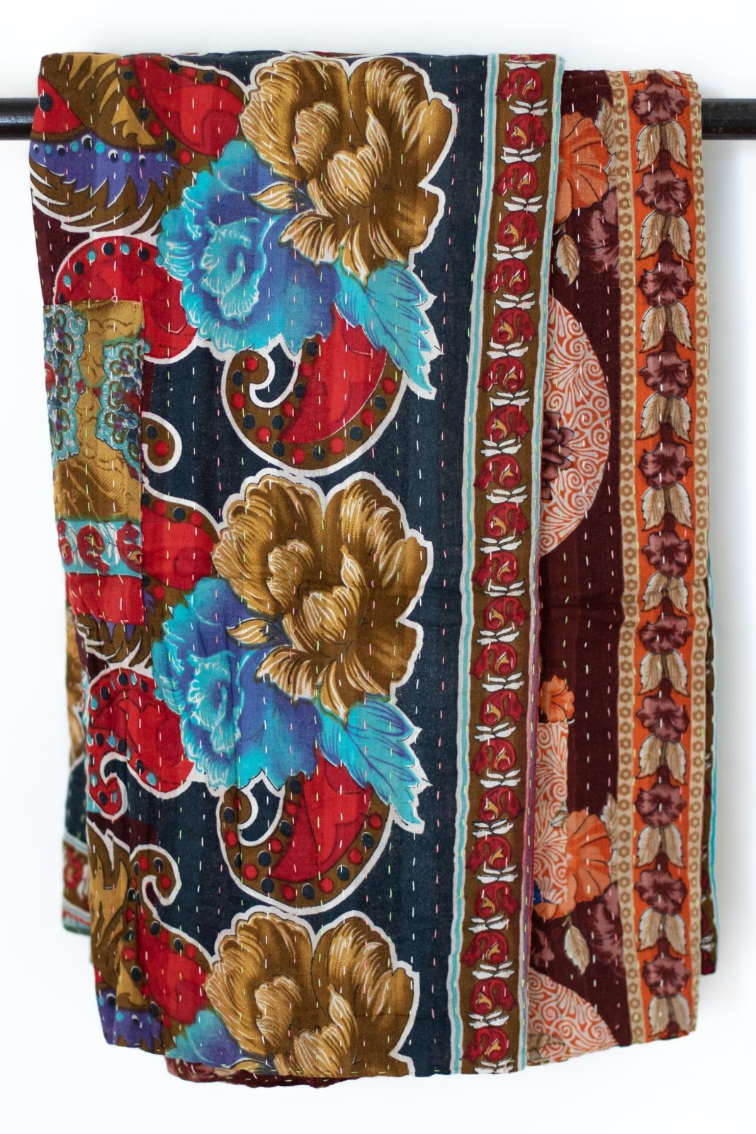 Domicile Kantha Throw