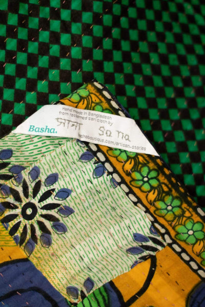 Right Kantha Throw