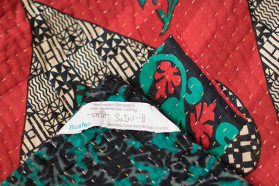 Dreamy Kantha Throw