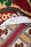 Resist Kantha Throw