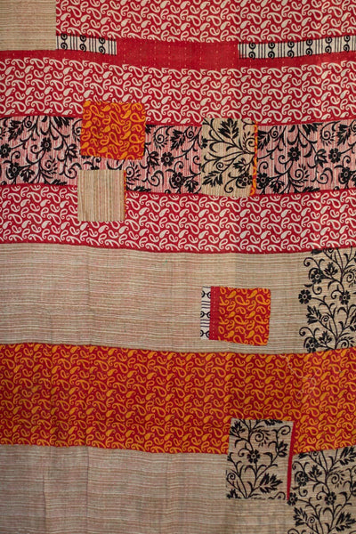 Deem Kantha Throw