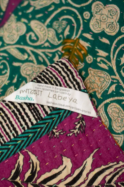 Plethora Kantha Throw