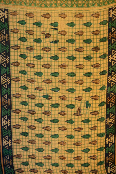 Beneficient Kantha Throw