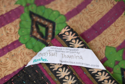 Outdoors Kantha Throw