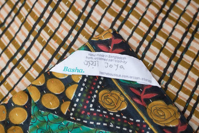 Base Kantha Throw
