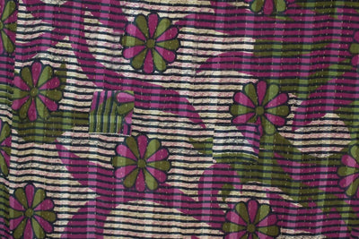 Boulder Kantha Throw