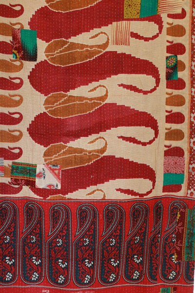 Glory Kantha Throw