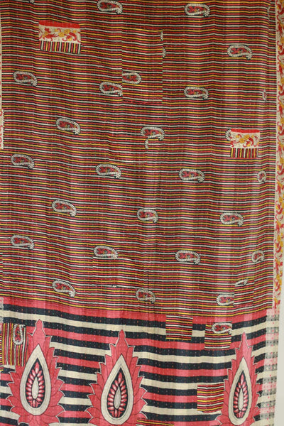 Concur Kantha Throw