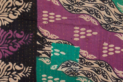 Foster Kantha Throw
