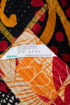 Interest Kantha Throw