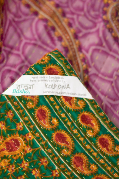 Sojourn Kantha Throw