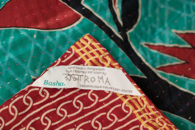 Observe Kantha Throw