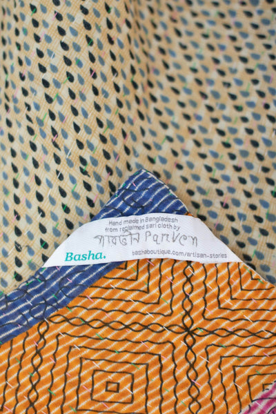 Prepared Kantha Throw
