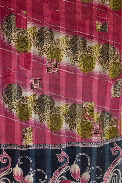 Capable Kantha Throw