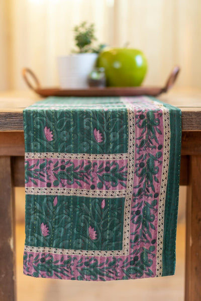 Kantha Table Runner Cotton A1