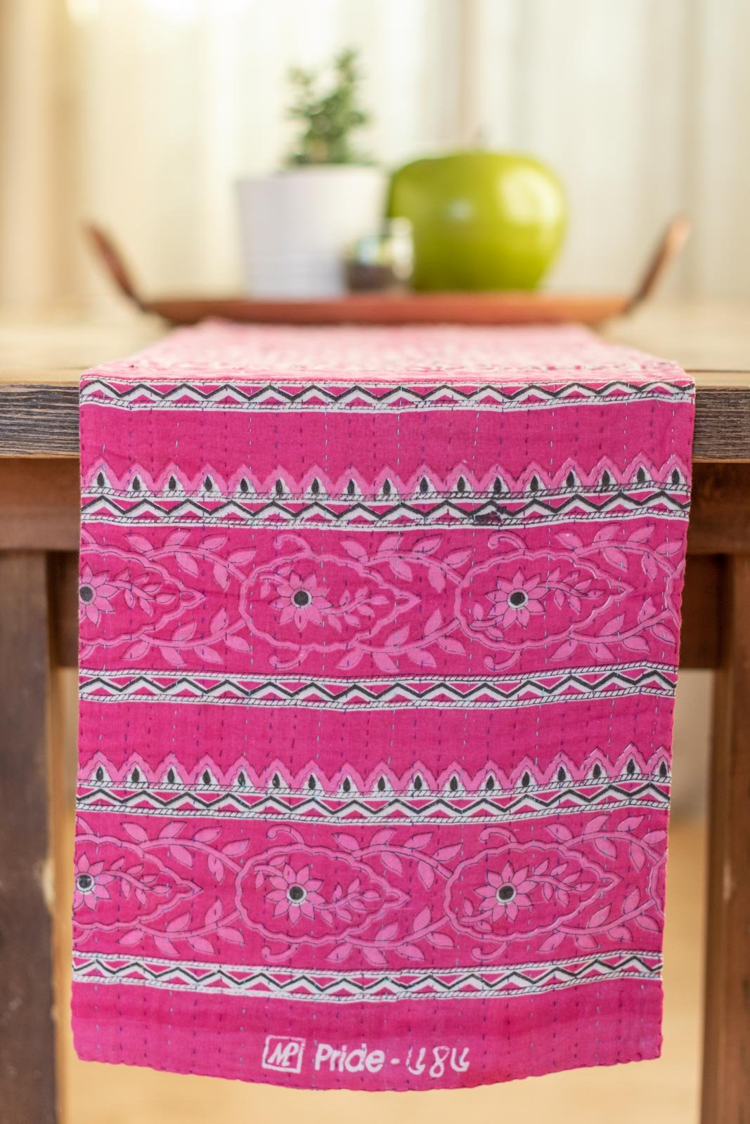 Kantha Table Runner Cotton E4