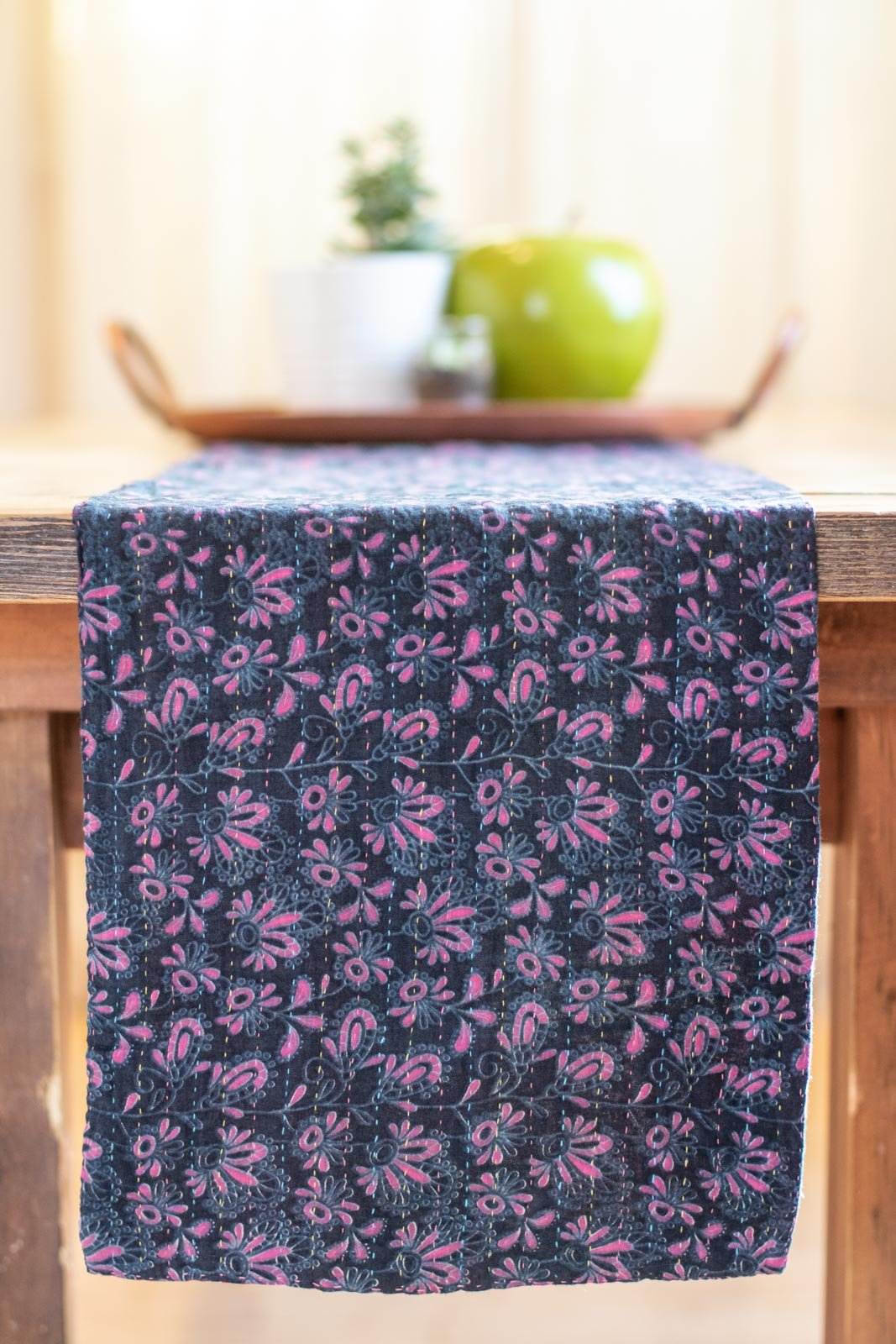Kantha Table Runner Cotton B4