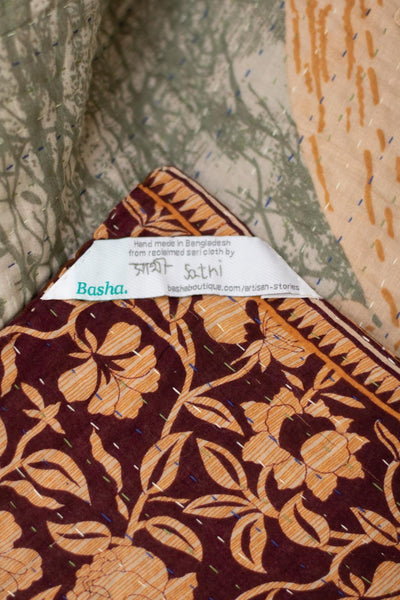 Expand No. 5 Kantha Large Throw
