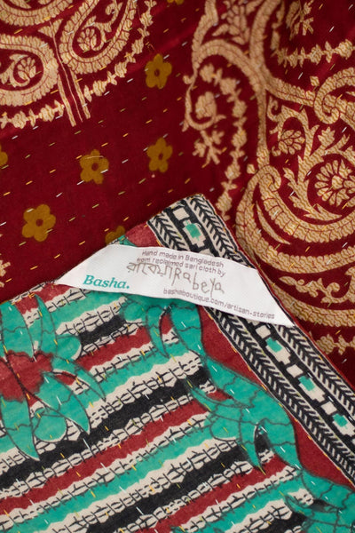Admire No. 4 Kantha Large Throw