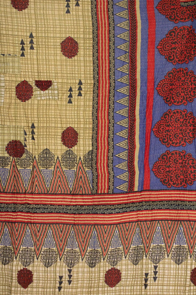 Admire No. 6 Kantha Large Throw
