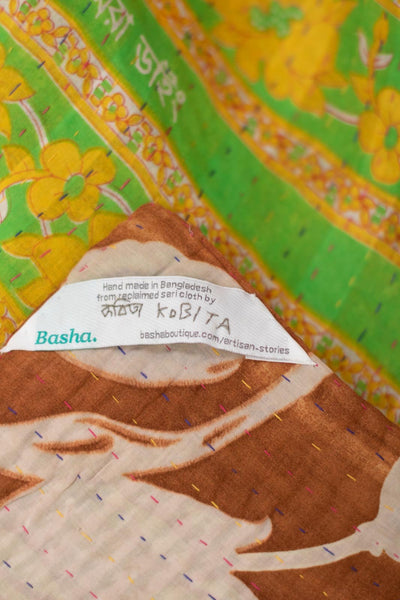 Admire No. 8 Kantha Large Throw