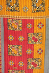 Elated Kantha Throw