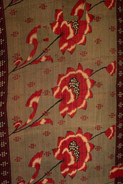 Cindy Lou Who Holiday Kantha Throw