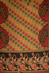 Comet Holiday Kantha Throw