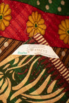 Fireplace Holiday Kantha Throw