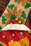 Prancer Holiday Kantha Throw