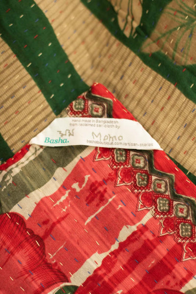 Wrapped Holiday Kantha Throw