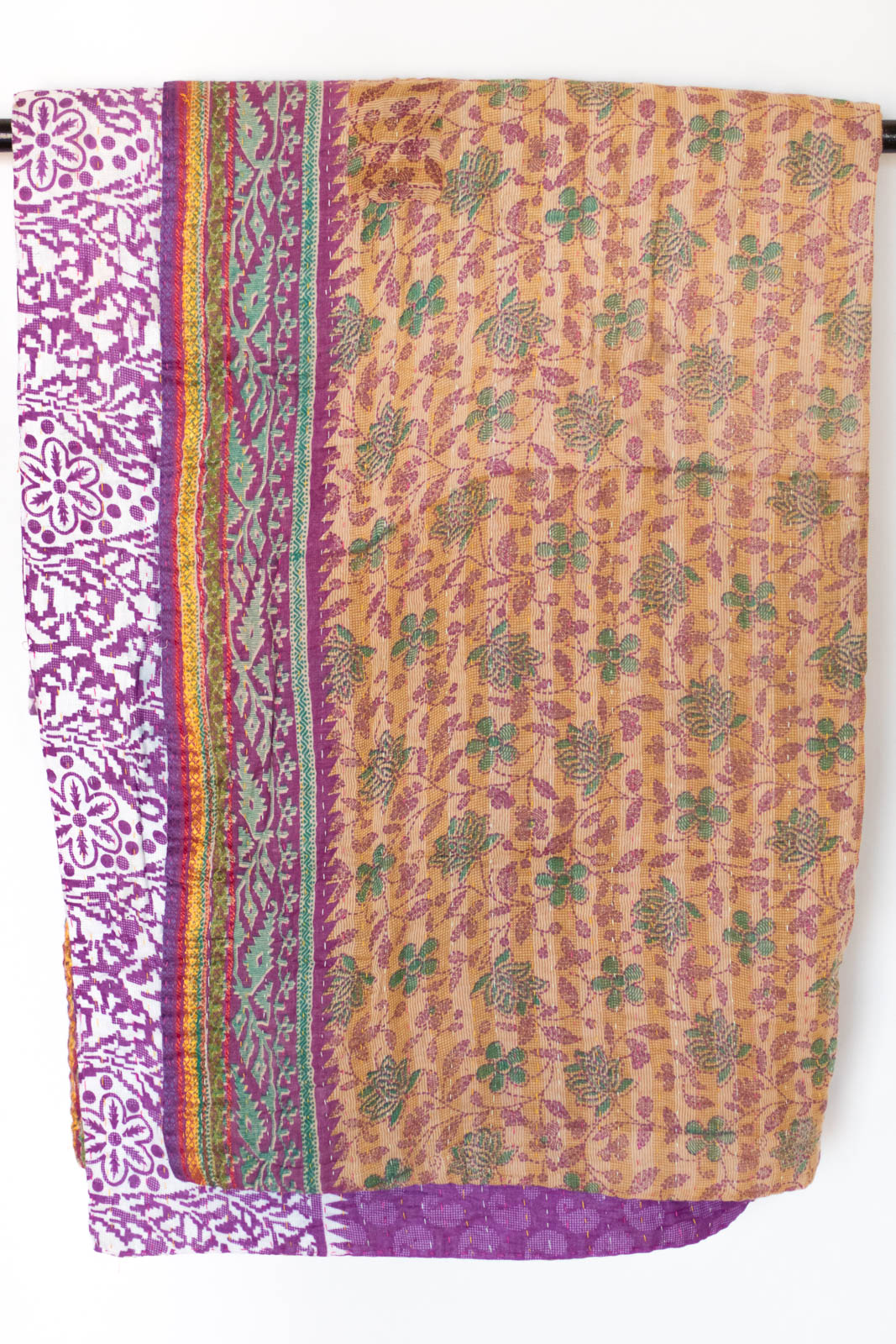 Devoted No. 2 Kantha Large Throw