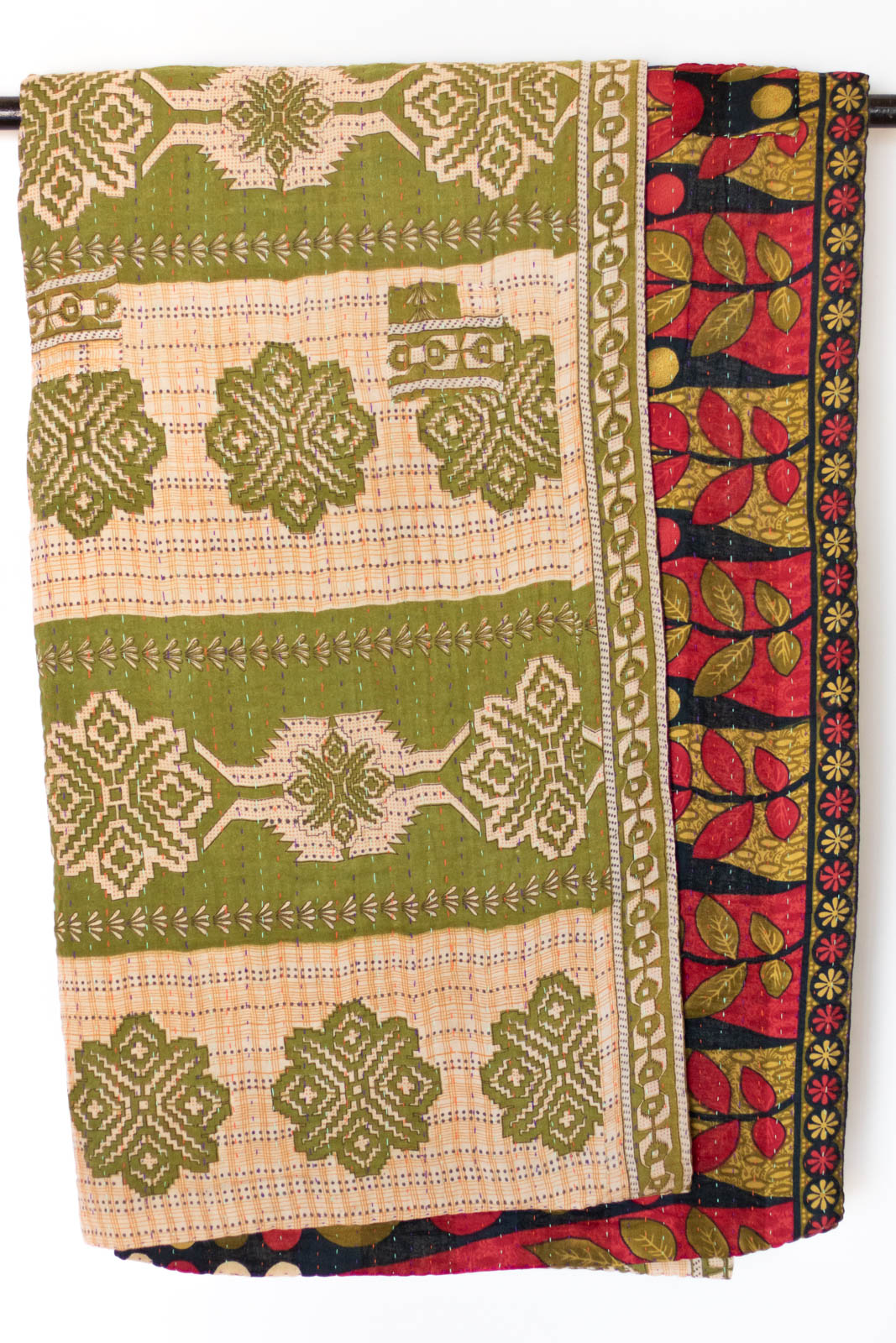 Devoted No. 6 Kantha Large Throw