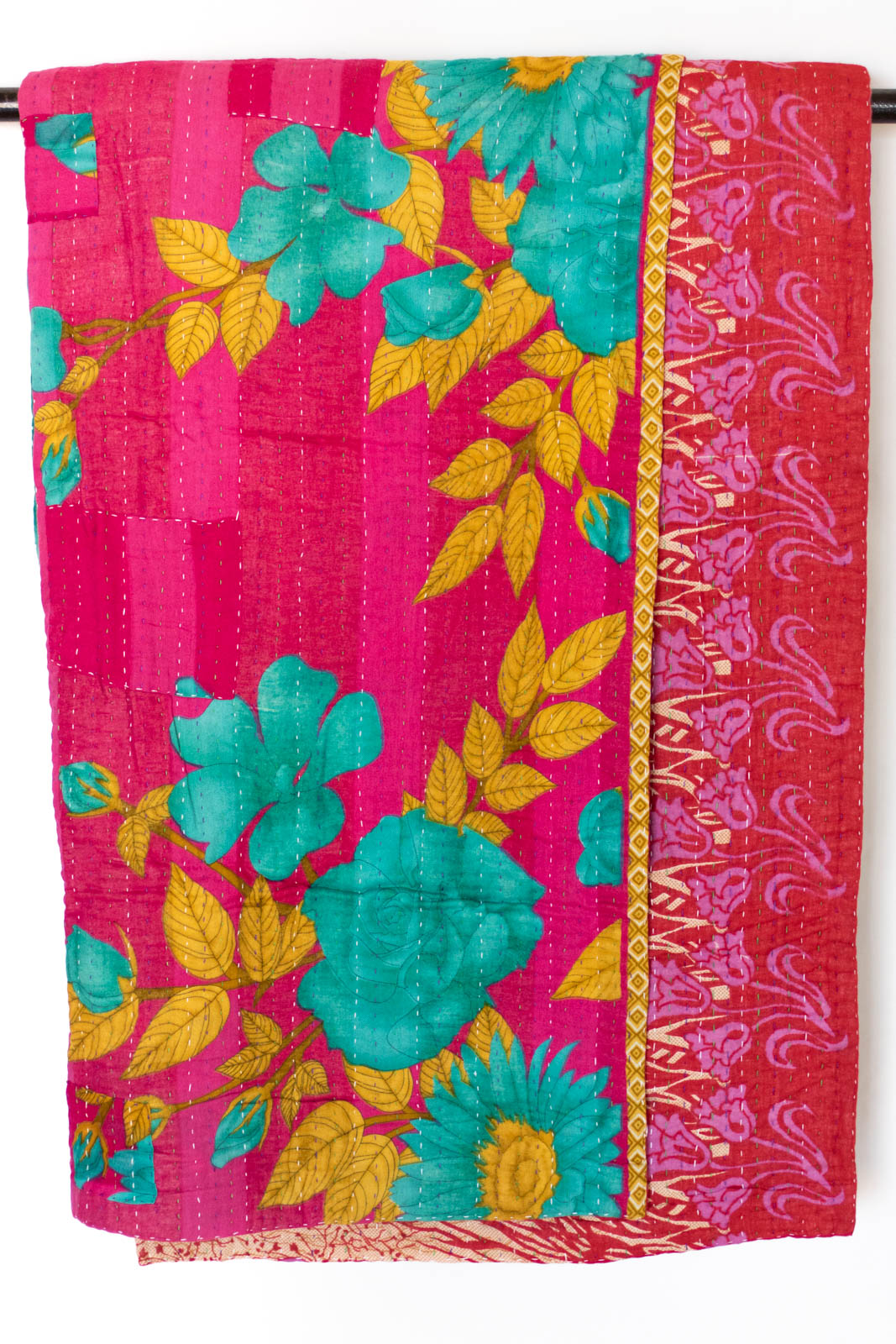 Devoted No. 8 Kantha Large Throw