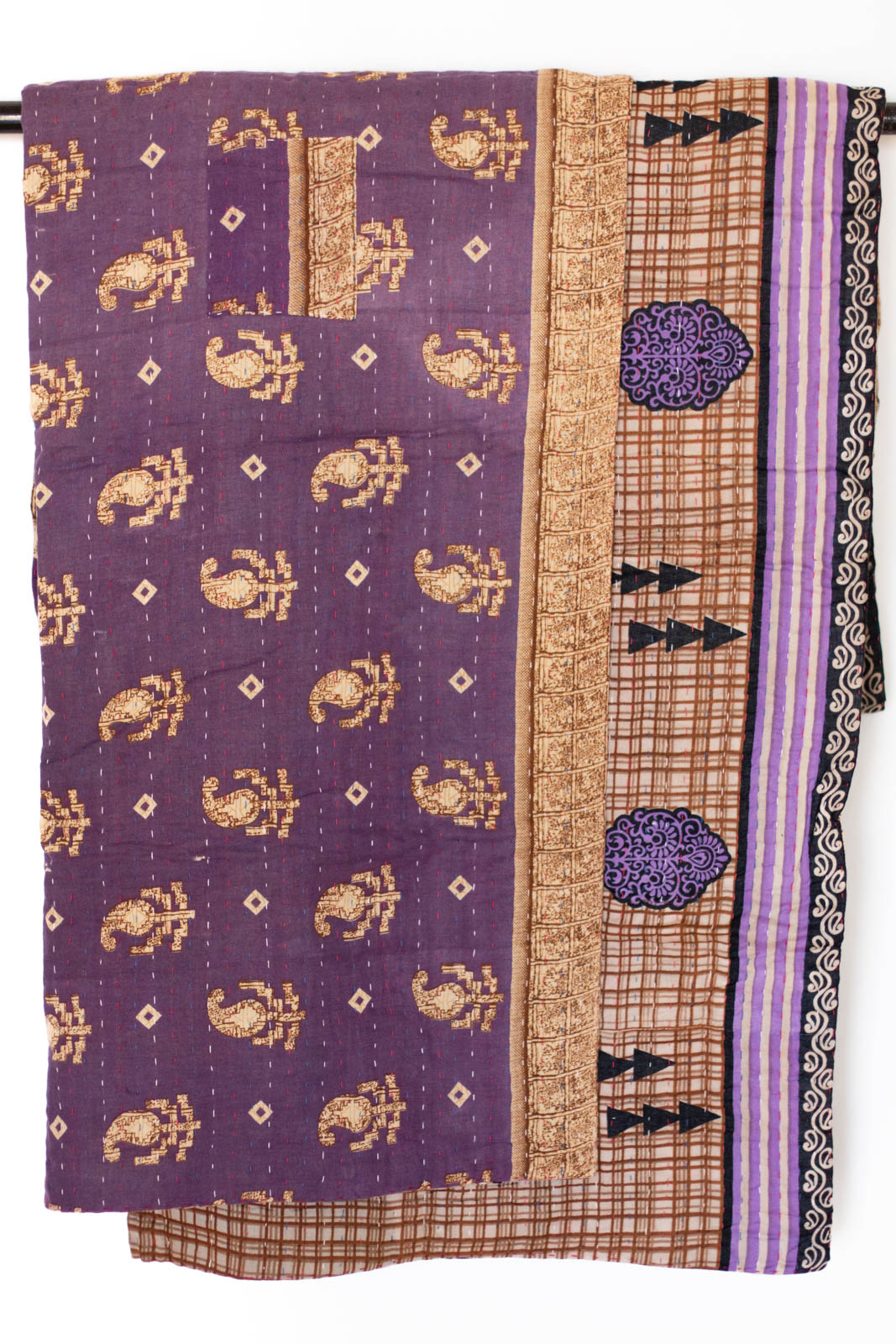 Devoted No. 9 Kantha Large Throw