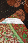 Fearless No. 12 Kantha Large Throw