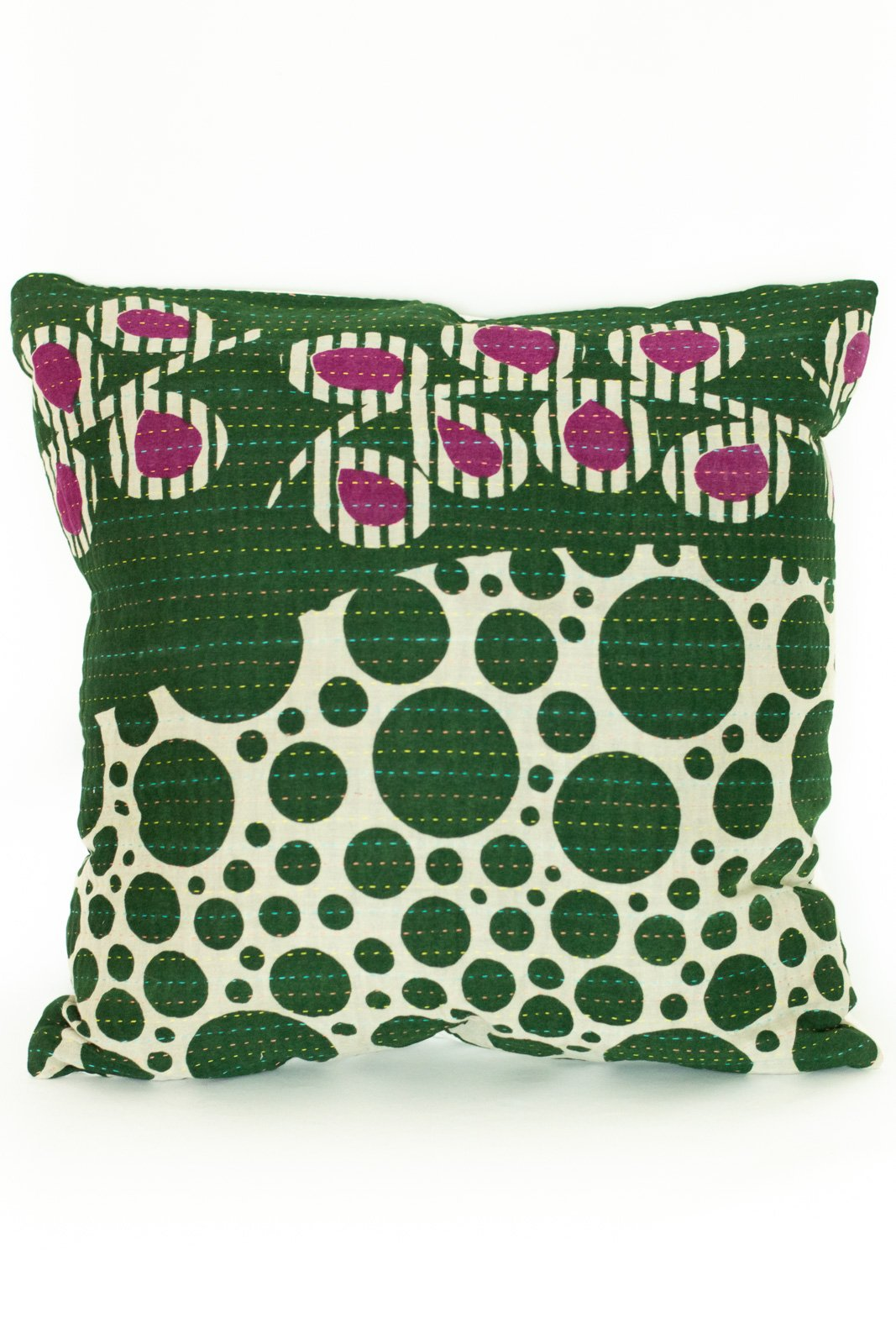 Beauty no. 3 Kantha Pillow Cover