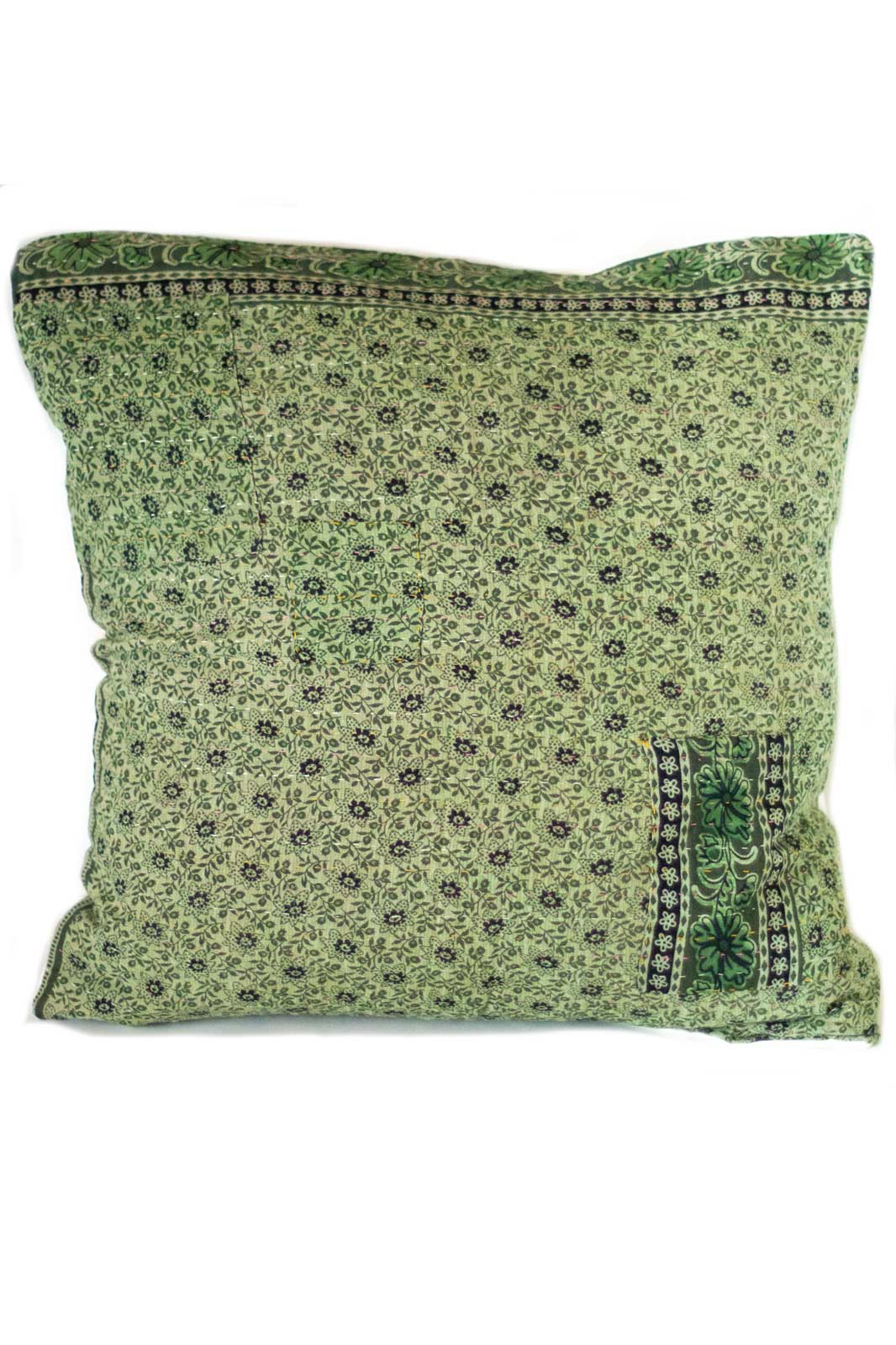 Intricate no. 1 Kantha Pillow Cover