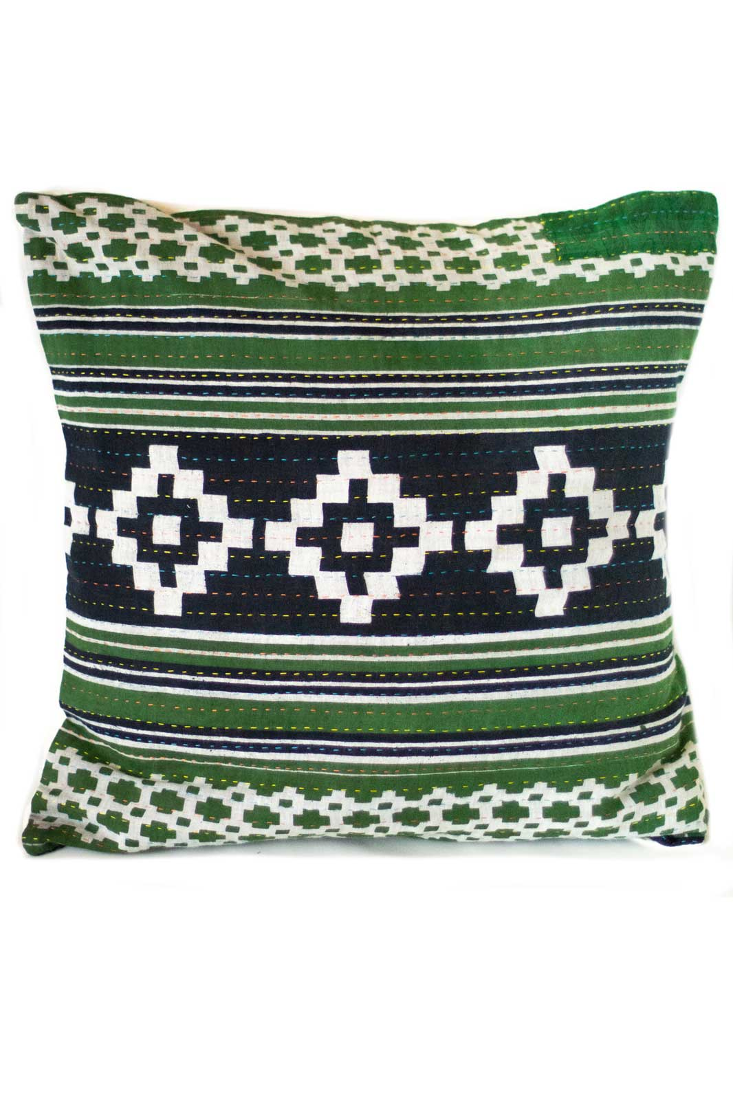 Intricate no. 5 Kantha Pillow Cover