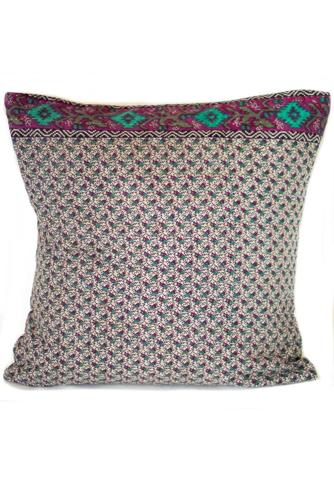 Intricate no. 6 Kantha Pillow Cover