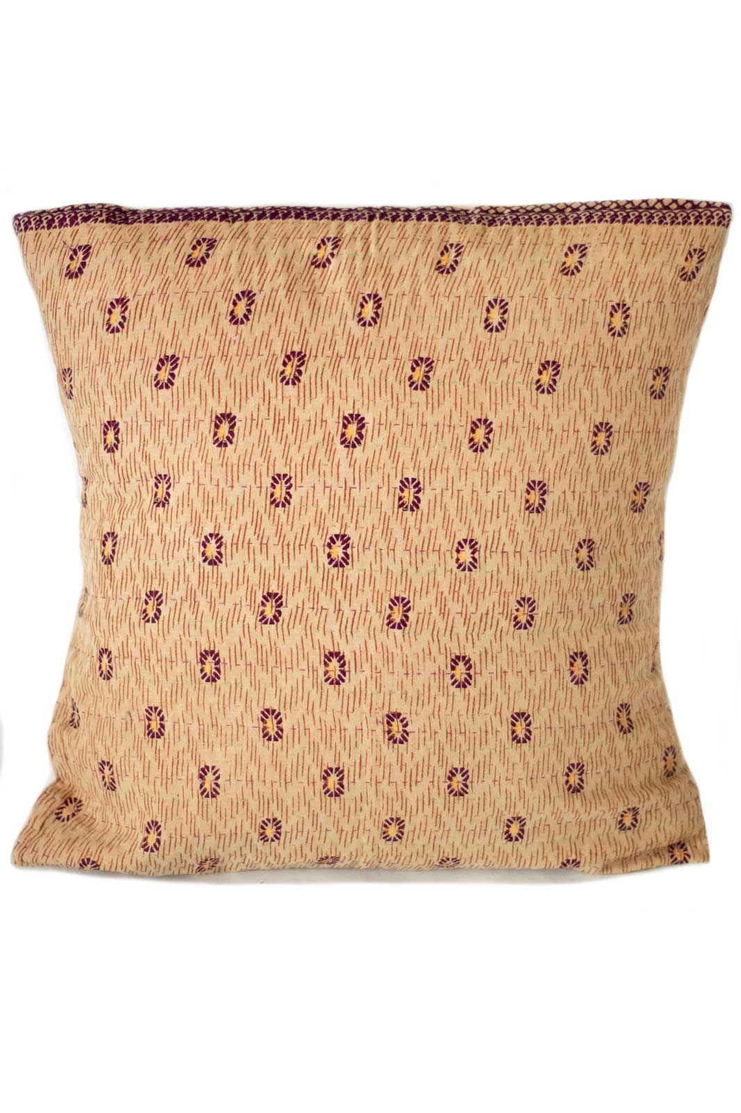 Intricate no. 8 Kantha Pillow Cover