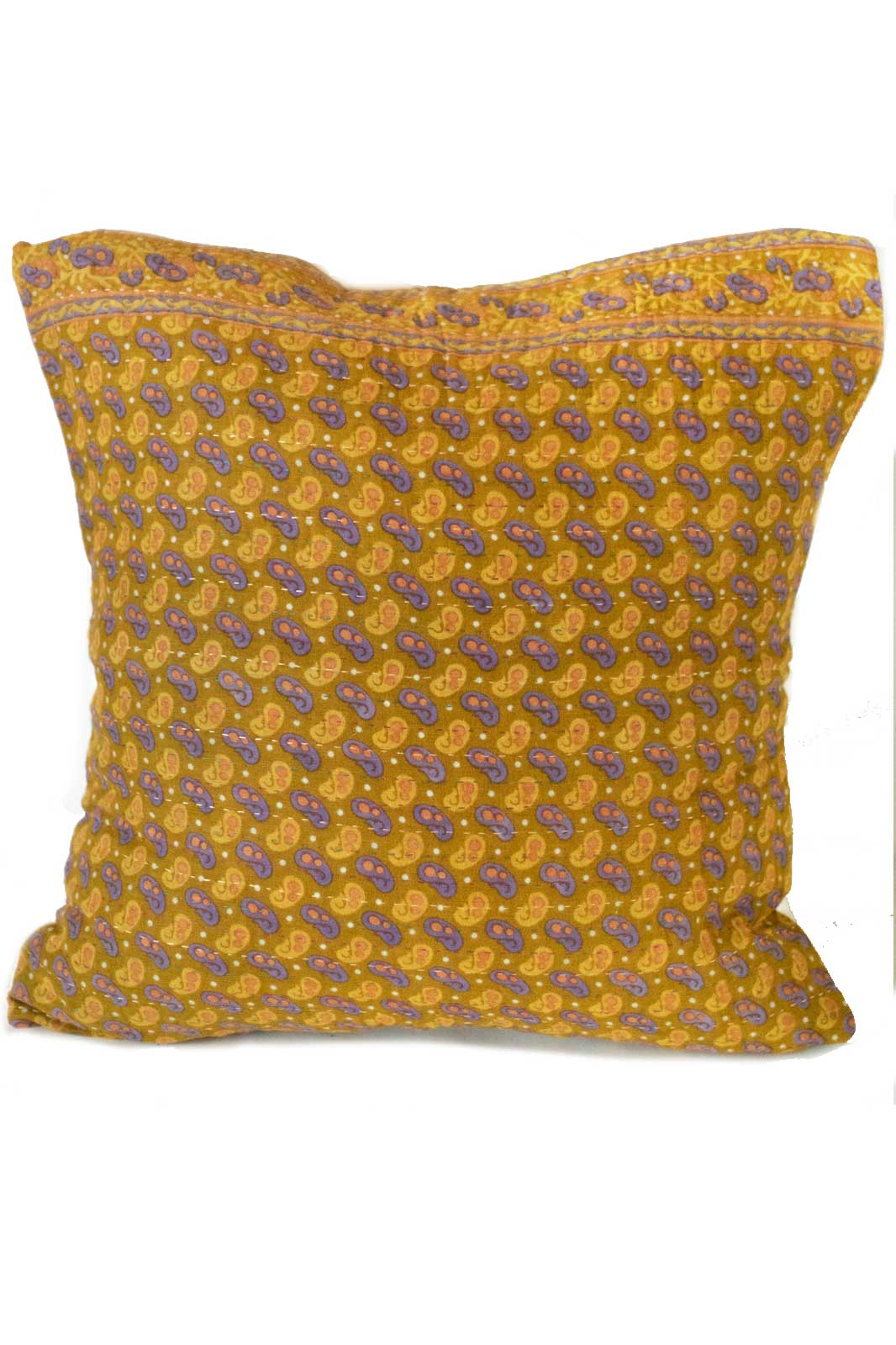 Beauty no. 4 Kantha Pillow Cover