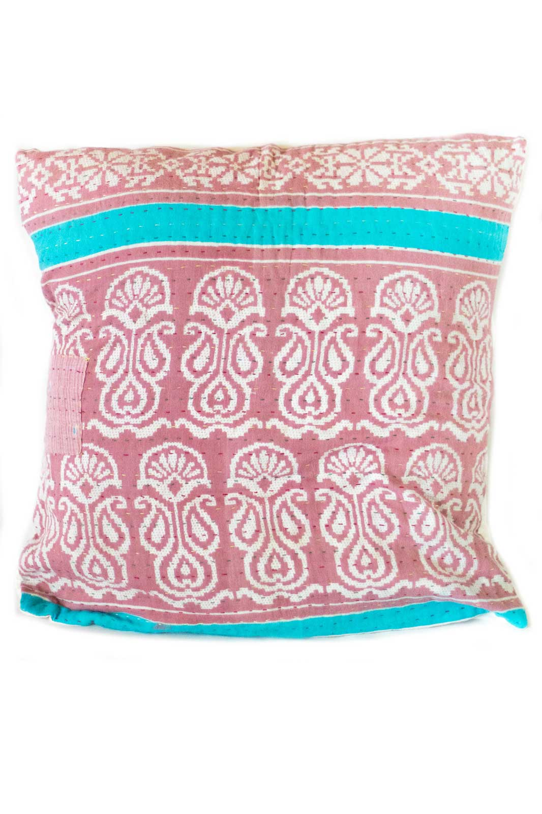 Beauty no. 7 Kantha Pillow Cover