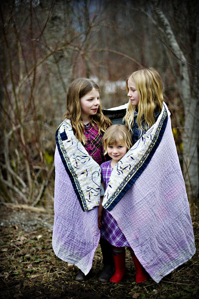 Fun Kantha Throw