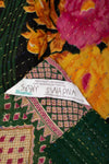 Slate Kantha Throw