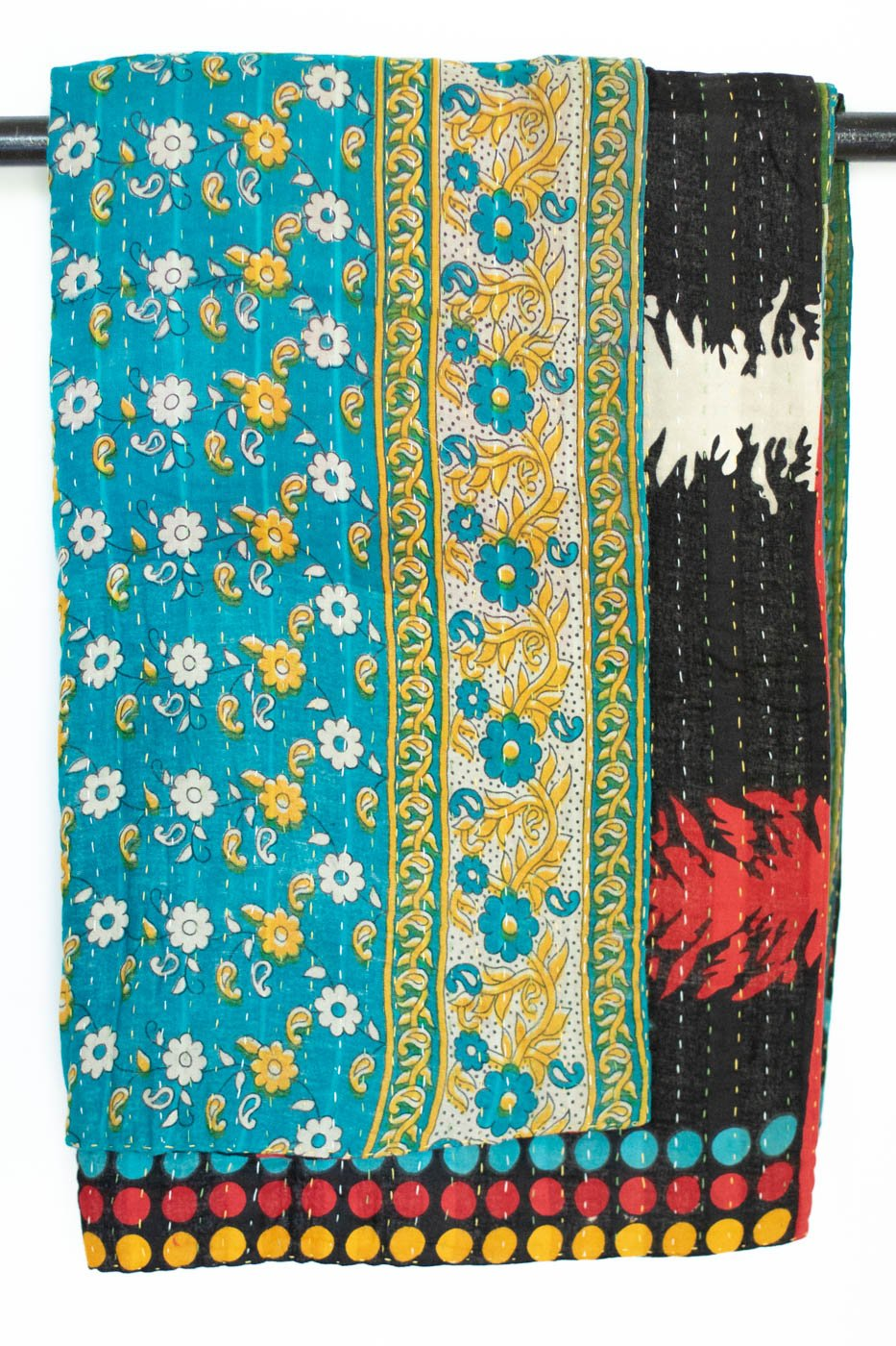 Endless Kantha Throw