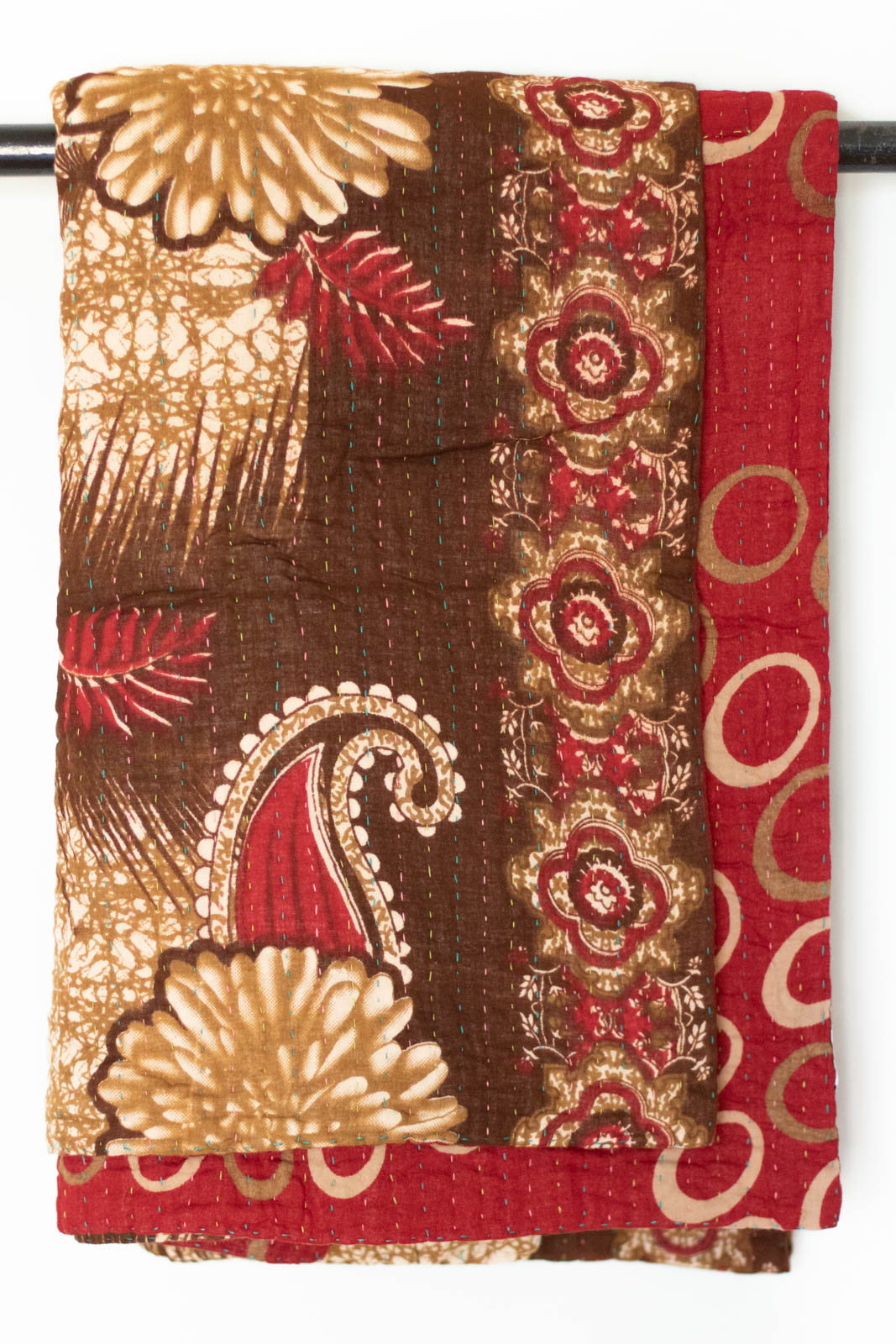 Ardent Kantha Throw