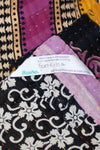 Peace No. 9 Kantha Large Throw